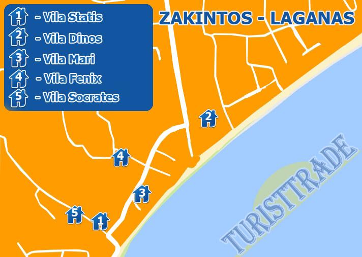 Mapa Zakintos 2018